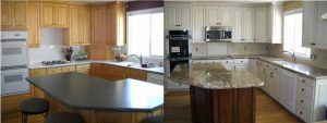 BeforeAfterMapleCabinets